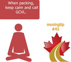 Keep calm and call GCVL! www.greatcanadianvanlines.com Moving Tips, Keep Calm, Playing Cards, Stay Calm, Moving Hacks, Playing Card Games, Cards, Game Cards, Moving House Tips