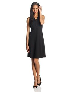 Karen Kane Women's Erica Sleeveless Dress, Black, Medium Karen Kane http://www.amazon.com/dp/B00HB2OWUY/ref=cm_sw_r_pi_dp_QAOTtb02ERAQ8AGS