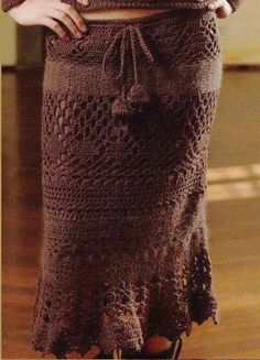 Dresses and skirts .... Brown skirt