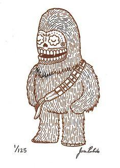 chewbacca calavera