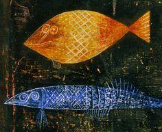 Paul Klee Fish Magic
