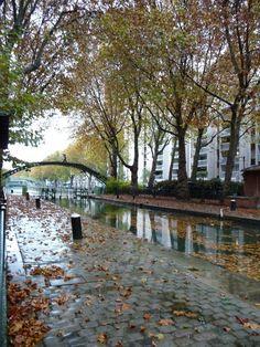 Le Canal St Martin via (Re)découvrez Paris.