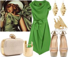 """Tamara de Lempicka."" by ana-cris on Polyvore"