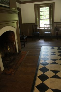 Early American Floorcloths