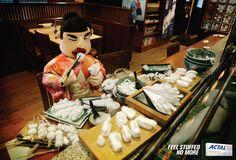 Actal Antacid: Stuffed, Japanese Food