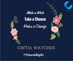 How to make a change, You need to take a chance first. You need to start from somewhere. We have the right watch to suit your born to change personality.