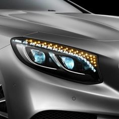 Behind blue eyes. Mercedes Benz S class