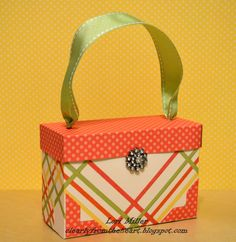 Clearly from the Heart: Dotty for You Purse