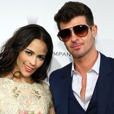 Robin Thicke's Wife Didn't Mind the Naked Girls in 'Blurred Lines' Video