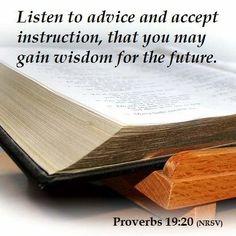 #wisdom #advice #Bible #Scripture #umc #Proverbs