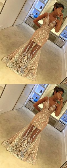 unique prom dresses,lace prom dresses,mermaid prom dresses,champagne prom dresses @simpledress2480