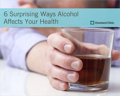 Surprising ways ALCOHOL affects your body – not just your liver. #drinking #alcohol