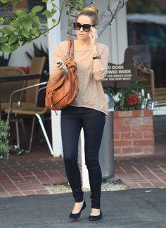 Lauren Conrad Exits Mauro's Cafe