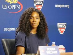 Serena Williams perfectly shuts down a reporter who asks why she's not smiling