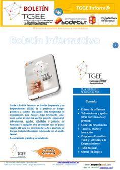 Boletín Red TGEE - Nº 16 Boletín de Emprendimiento y Gestión Empresarial