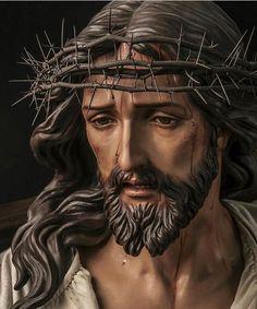Image may contain: 1 person Christ Tattoo, Jesus Tattoo, Catholic Art, Religious Art, La Passion Du Christ, Jesus Christ Statue, Jesus Drawings, Pictures Of Jesus Christ, Jesus Painting