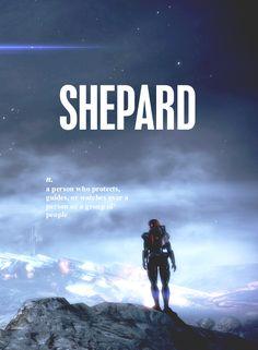 I'm Commander Shepard...