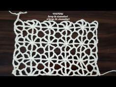 Crochet Videos, Knitting Stitches, Crochet Clothes, Knit Crochet, Applique, Crochet Patterns, Throw Pillows, Blanket, Youtube