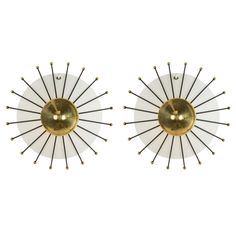 Pair of Arredoluce Sconces | From a unique collection of antique and modern wall lights and sconces at http://www.1stdibs.com/furniture/lighting/sconces-wall-lights/