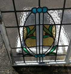 Leaded Stained Glass Windows (circa 1930s)   eBay