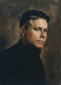 Alan Menken (Composer). By Daniel E. Greene - Portrait Artist, Subway Paintings, Still Lifes, Workshops, Paint Sets & Painting Videos