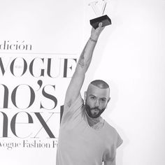 Los protagonistas de la noche: @mancandy y @loboshoes. #WhosOnNextMx ha hablado ellos son los próximos grandes talentos de la moda Fotografía: @rp.pic  via VOGUE MEXICO MAGAZINE OFFICIAL INSTAGRAM - Fashion Campaigns  Haute Couture  Advertising  Editorial Photography  Magazine Cover Designs  Supermodels  Runway Models
