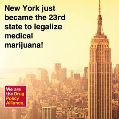 #NewYork becomes 23rd state to legalize medical cannabis! http://www.drugpolicy.org/news/2014/06/new-york-becomes-23rd-state-pass-medical-marijuana-bill