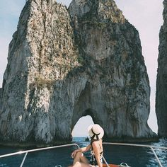 Italian summer ☀️ Dame Traveler captured by via Island Holidays, Capri Italy, Italian Summer, Adventure Awaits, Belle Epoque, My Happy Place, Travel Photos, Mount Rushmore, Traveling By Yourself