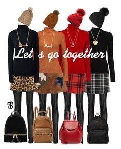 """""""Let's  go together"""" by tatjanasega on Polyvore featuring Haider Ackermann, J.Crew, Misha Nonoo, Yves Saint Laurent, RED Valentino, Just Cavalli, N°21, Lands' End, Frances Valentine and Cynthia Rowley"""
