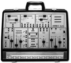ems synth - never had one of these, but it was kinda legendary from Brian Eno's experiements and writing.
