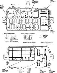 del sol, eh6, in car fuse panel diagram box design, house design,
