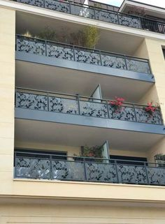 23 Ideas Wall Paneling Stairs Window For 2019 Balcony Glass Design, Balcony Grill Design, Balcony Railing Design, Glass Balcony, Window Grill Design, Staircase Design, Door Gate Design, Fence Design, Compound Wall Gate Design