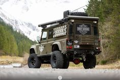 Land Rover Defender 110 Extreme Adventure. So nice.