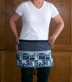 Star Wars ApronAdult Utility Vendor by SusiesTieOneOnAprons