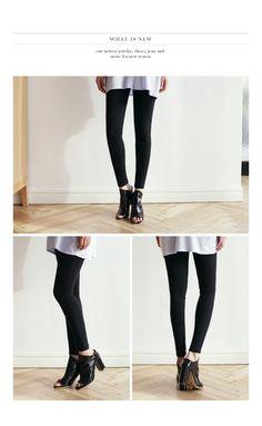 サイドジッパースキニーパンツ・全2色パンツ・ジーンズパンツ・ズボン|大人のレディースファッション通販 HIHOLLIハイホリ [トレンドをプラスした素敵な大人スタイル]