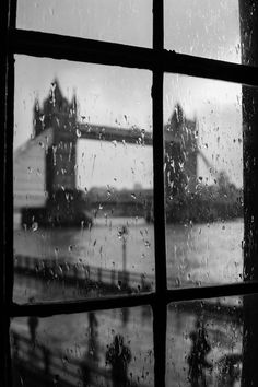 Rainy window bridge