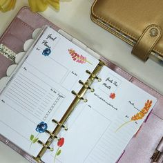 A customer request - my goal planning inserts are now in personal size! Other sizes still available!