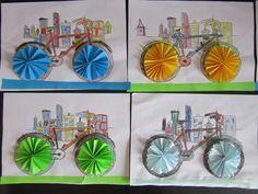 klikni pro další 4/6 Projects For Kids, Diy For Kids, Art Projects, Crafts For Kids, Diy And Crafts, Arts And Crafts, Paper Crafts, Bike Craft, Trash Art