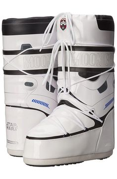 Tecnica Moon Boot Star Wars Stormtrooper (White/Black) Work Boots - Tecnica, Moon Boot Star Wars Stormtrooper, 14021200-001, Footwear Boot Work, Work, Boot, Footwear, Shoes, Gift - Outfit Ideas And Street Style 2017
