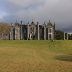 Belleek Castle, Ballina, County Mayo, Ireland - we were the only guests and got a personal tour of the 12th-century dungeon and the 17th-century armory!