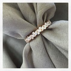 Michaela: This is the most beautiful, perfect wedding band I have ever seen. I love how unique it is