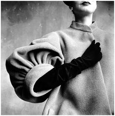 Irving Penn Balenciaga Sleeve (Regine), Paris, 1950 © The Irving Penn Foundation