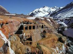 Puente de las Incas- one of the most amazing sites from my trip Mendoza, Places Around The World, Around The Worlds, Inca, World Photo, South America Travel, What A Wonderful World, Ancient Civilizations, Central America