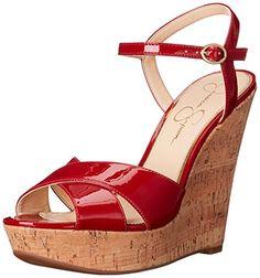 Jessica Simpson Women's Isadoraa Wedge Sandal, Lipstick, http://www.amazon.com/gp/product/B01AUGRXTE/ref=as_li_tl?ie=UTF8&camp=1789&creative=9325&creativeASIN=B01AUGRXTE&linkCode=as2&tag=pinwedgesred-20&linkId=XZZKQ4QA2HZ77DF3