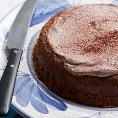 Walnut Passover Cake With Chocolate Whipped Cream