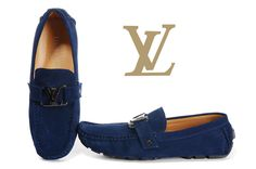 Louis Vuitton Mens Loafer Navy Blue 03 Louis Vuitton Loafers, Loafers Men, Men's Shoes, Navy Blue, Casual, Man Shoes, Guy Shoes, Shoes Men