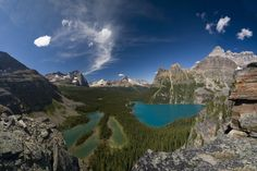 Lake O'Hara in Yoho National Park in Canada