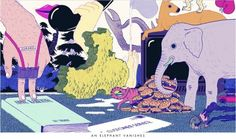 An Elephant Vanishes by Micah Lidberg