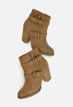 Zapatos Hensely en Camel - Envío gratuito en JustFab