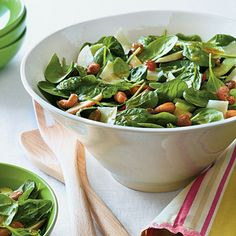 Waldorf Spinach Salad - Best Apple Recipes - Southern Living